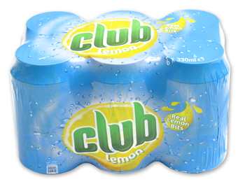 Club Lemon Cans 6 Pack