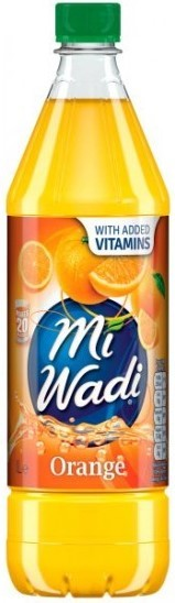 Miwadi Orange Cordial 1ltr