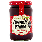Abbey Farm Strawberry Preserve 340g