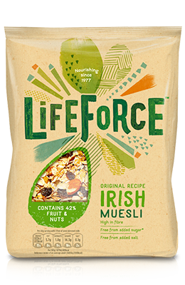 Lifeforce Irish Muesli 750g