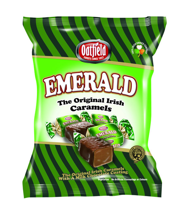Emerald Caramels 150g Packet