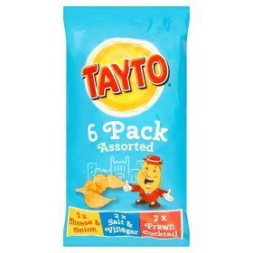 Tayto 6  Pack Assorted