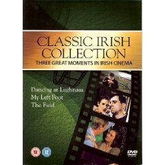 CLASSIC IRISH FILMS 3 DVD SET DANCING LUGHNASA, MY LEFT FOOT, THE FIELD