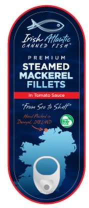 Irish Canners Mackerel in Tomato Sauce 95g