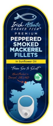 Irish Canners Peppered Mackerel