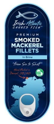 Irish Canners Smoked Mackerel in brine 95g