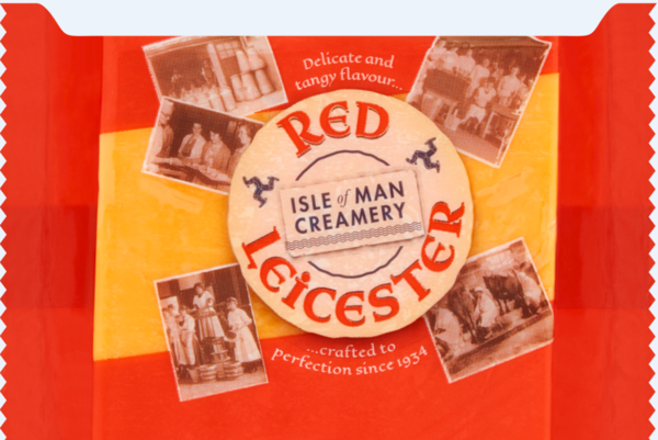 Isle Of Man Creamery Red Leicester Cheddar 200g