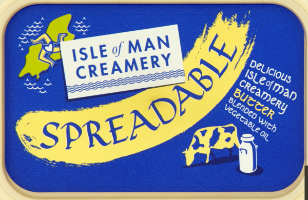 Isle Of Man Creamery Salted Spreadable Butter 250g
